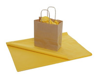Yellow Tissue Paper ...